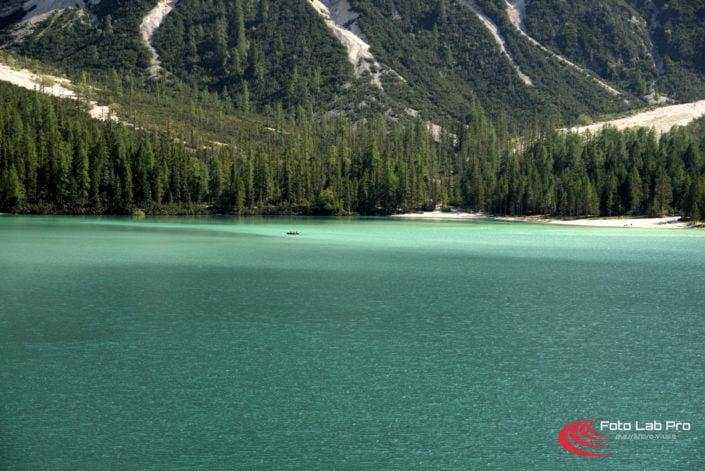 Trentino Braies il lago