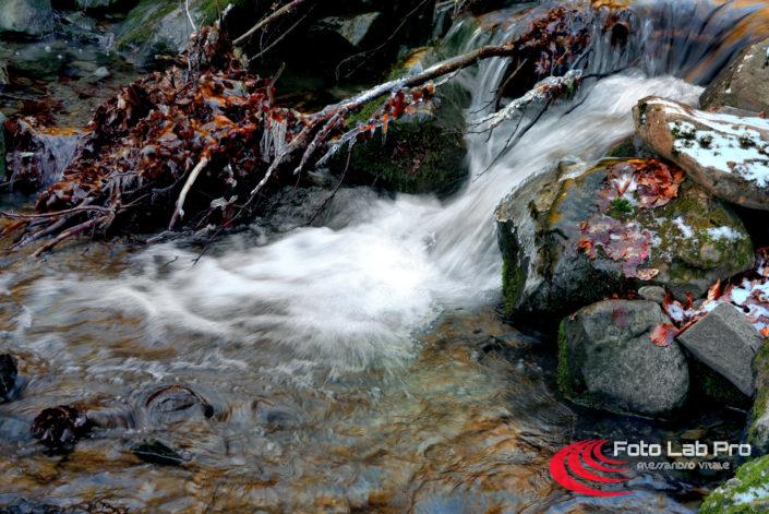 Cascate del fiume Dardagna a Lizzano in Belvedere