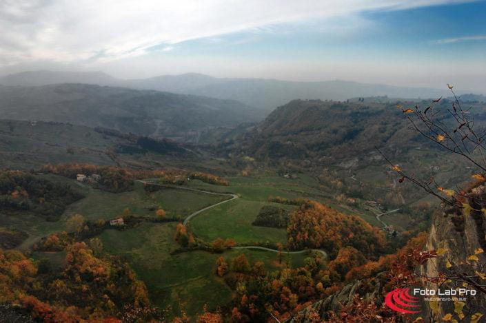 La valle dei Sassi