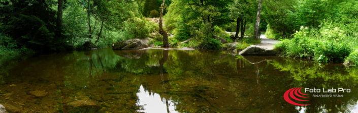 Il fiume di sassi di Zlatnite Mostove Vitoša